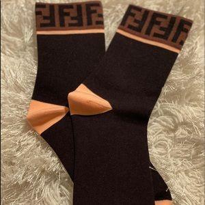 FF motif socks